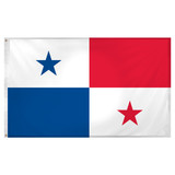 Panama flag 3ft x 5ft Super Knit Polyester