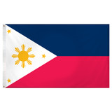 Philippines flag 3ft x 5ft Super Knit Polyester