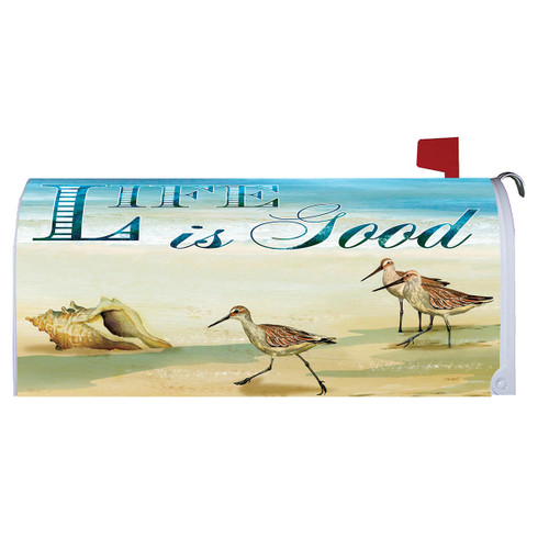 Summer Mailbox Cover - Life is Good