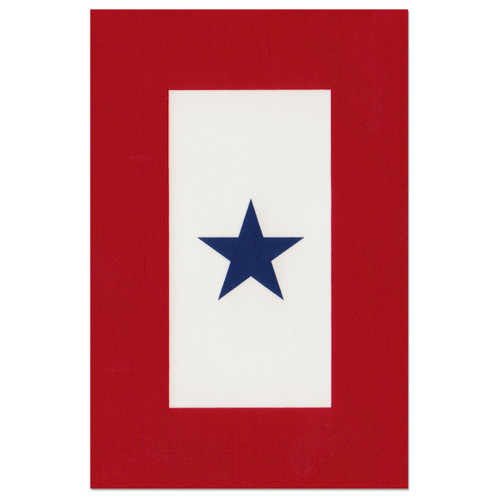Service Banner Flag Decal