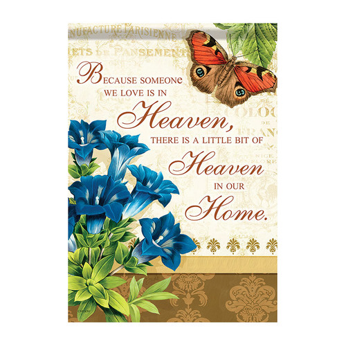 Bereavement Garden Flag - Heaven In Our Home