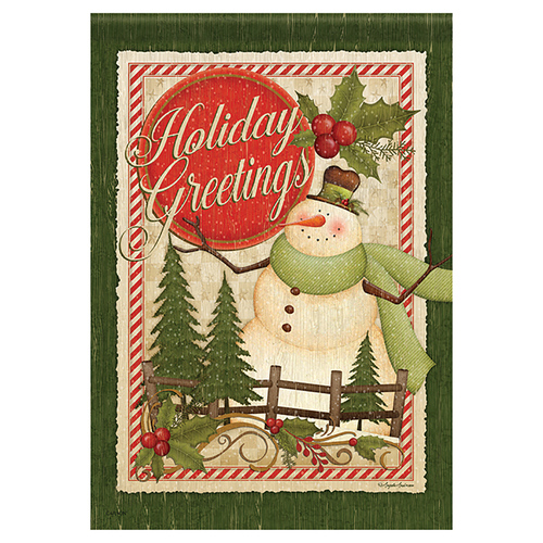 Christmas Garden Flag  - Christmas Greetings
