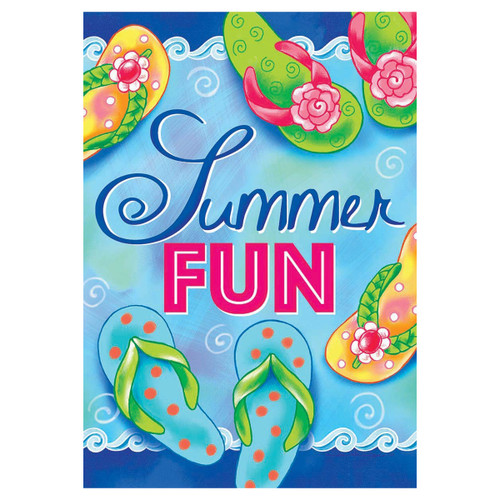 Summer Garden Flag - Summer Fun