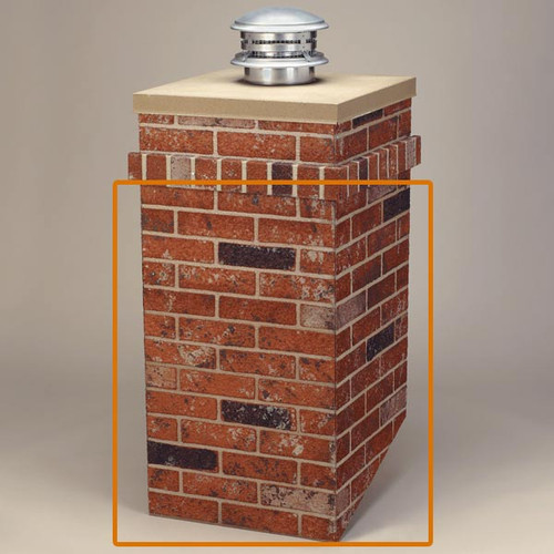 R-CO Rectangular Chimney Surround