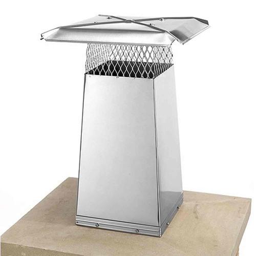 8'' x 8'' Stainless Steel Flue Stretcher - 22'' High