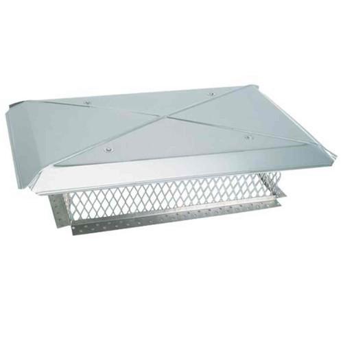 9'' x 13'' Gelco Stainless Steel Multi-Flue Chimney Cap