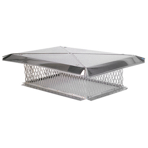 13'' x 28'' Gelco Stainless Steel Chimney Cap