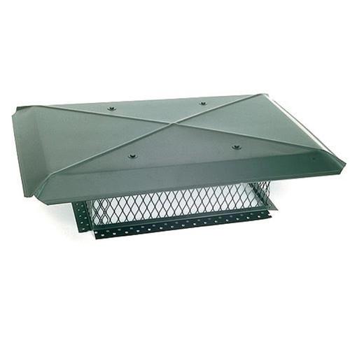 17'' x 41'' Gelco Galvanized Multi-Flue Chimney Cap