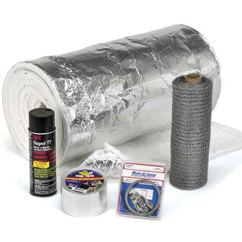 8'' HomeSaver UltraPro 25' Chimney Insulation