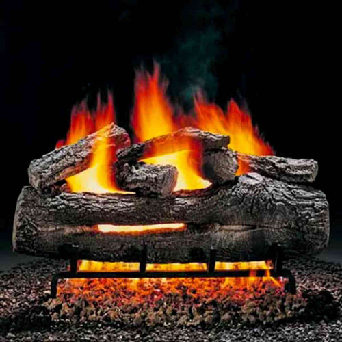18'' Hargrove Fire Oak Vented Gas Logs - Logs Only