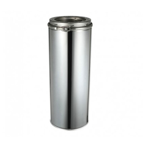 "EcoVent USA 6 "" x 18 "" Chimney Pipe"