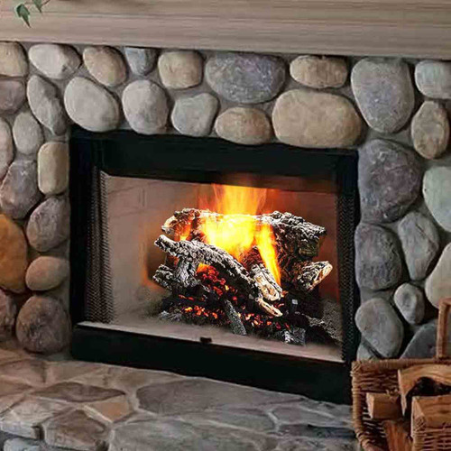 30'' Canyon Wildfire Vented Gas Log Set-Propane