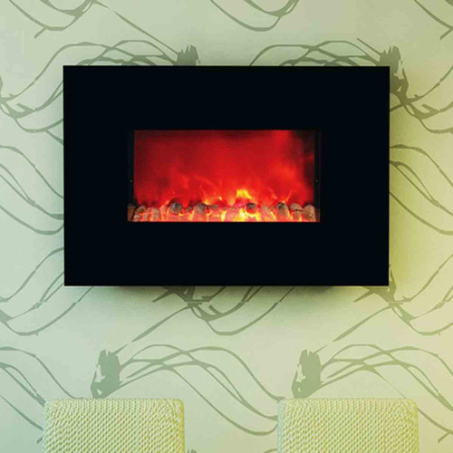 HomComfort 38'' Widescreen Wall-Mount Electric Fireplace