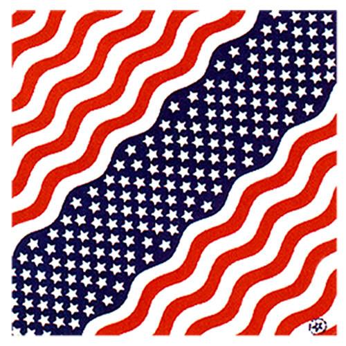 Hot Leathers American Flag Bandana
