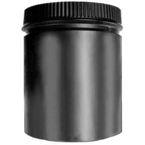 6'' x 12'' DSP Double Wall Black Stovepipe - DSP-6P12