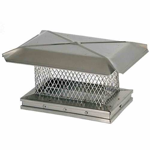 13'' x 17'' Gelco Stainless Steel Chimney Cap - 13309