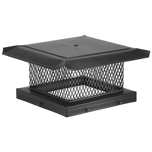 8'' x 8'' HomeSaver Pro Galvanized Chimney Cap - 14701
