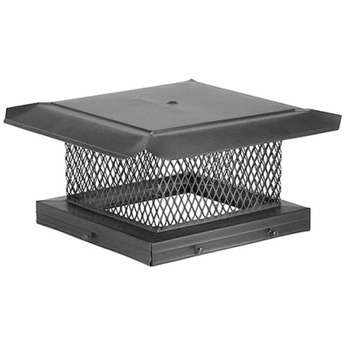 13'' x 13'' Homesaver Galvanized Chimney Cap