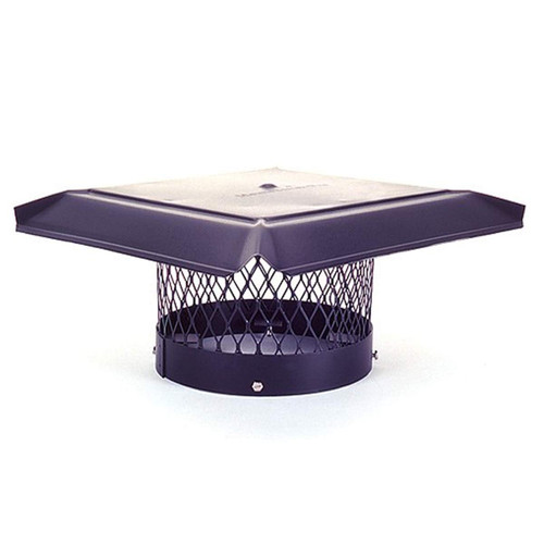 8'' Round Homesaver Pro Galvanized Chimney Cap
