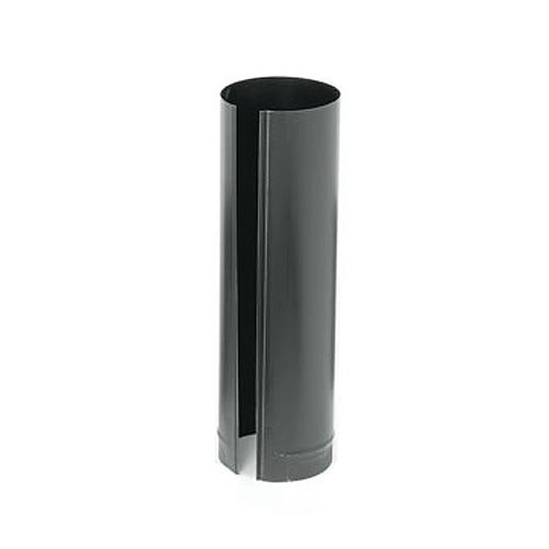 7'' x 24'' 24-Ga. Snap-Lock Black Stovepipe