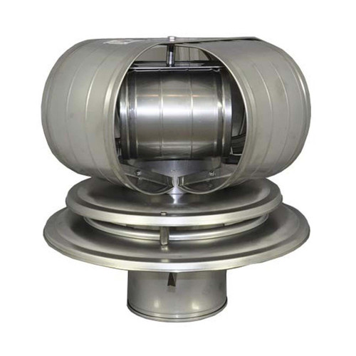 9'' TDW Vacu-Stack for Air Cooled Chimney