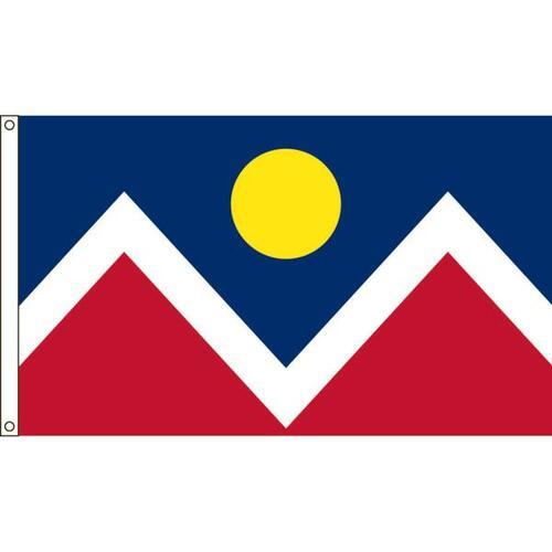 Denver 3ft x 5ft Nylon Flag