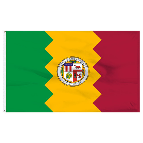 Los Angeles 3x5ft Nylon Flag