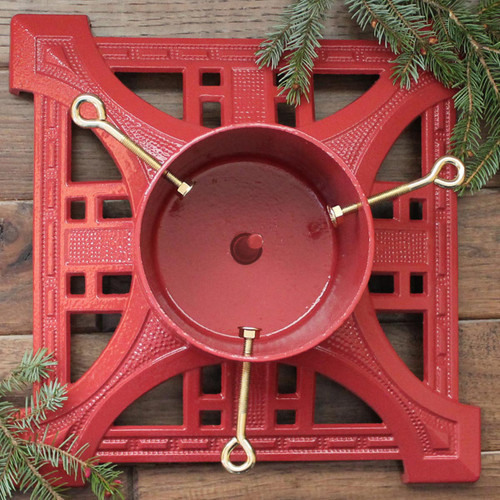 Heirloom Tree Stand - Red