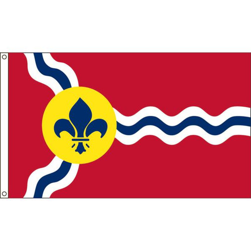 St Louis 3x5ft Nylon Flag
