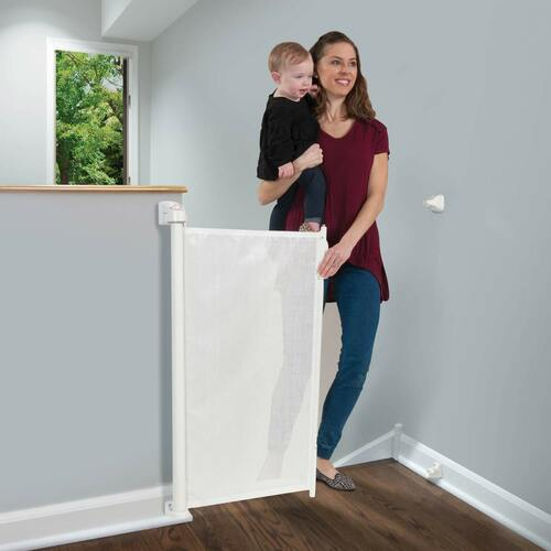KidCo Retractable Safeway Gate - White