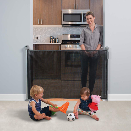 KidCo Retractable Safeway Gate - Black