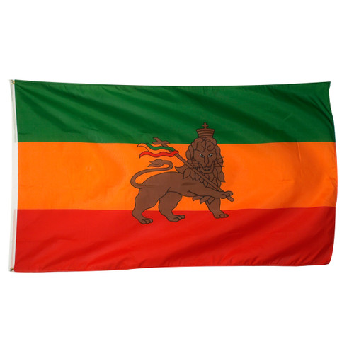 Rasta Flag 3ft x 5ft Printed Polyester