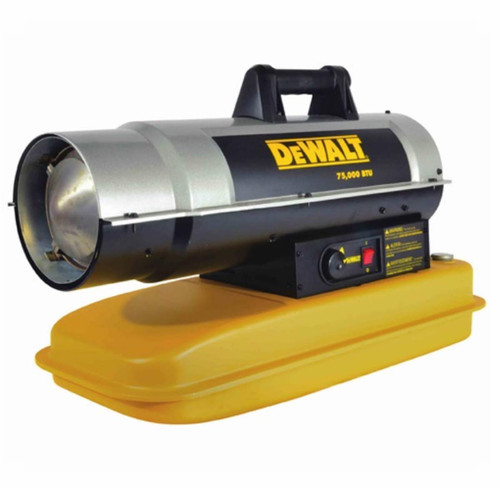 DeWalt 75,000 BTU Forced Air Kerosene Heater