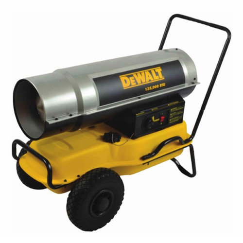 DeWalt 135,000 BTU Forced Air Kerosene Heater