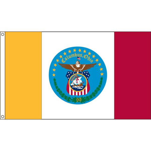 Columbus 2' X 3' Nylon Flag