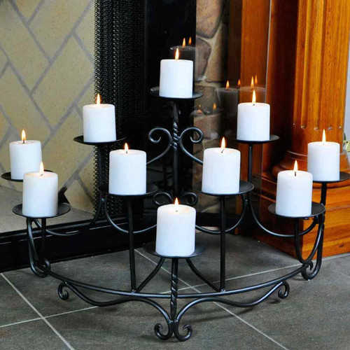 Spandrels Hearth Candelabra