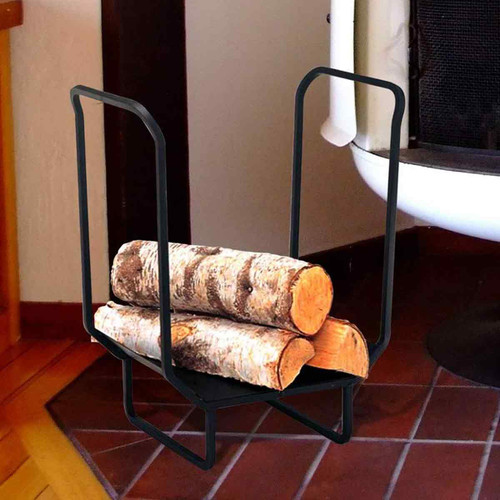 16'' Wrought Iron Wood Holder