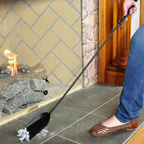 Long Rope Design Fireplace Shovel