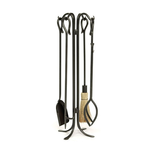 Hearth Hooks Tool Set-Graphite Powdercoat