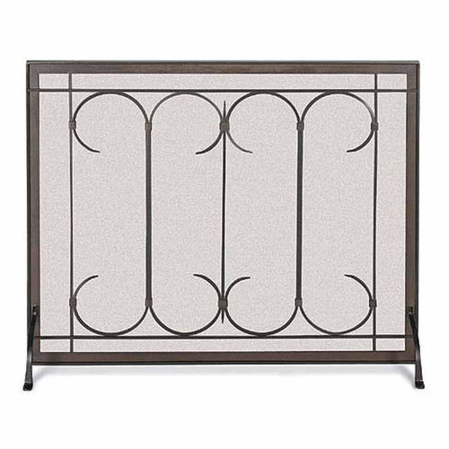 Pilgrim Iron Gate Screen - Burnished Black