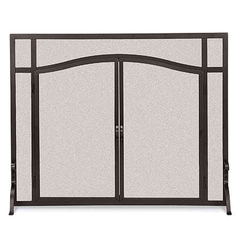Pilgrim Forged Iron Arched Door Screen - 18438
