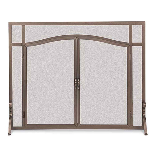 Pilgrim Forged Iron Arched Door Screen - BB