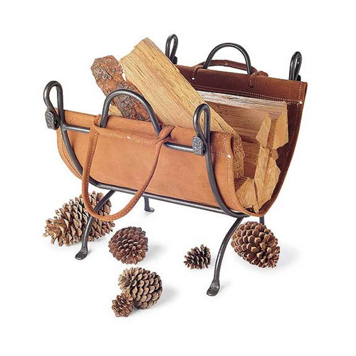 Pilgrim Folding Log Carrier and Holder