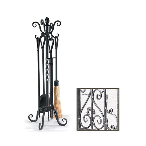 Pilgrim 33'' Victorian Tool Set - Brushed Pewter