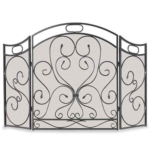 Pilgrim Shakespeare's Garden Folding Fireplace Screen