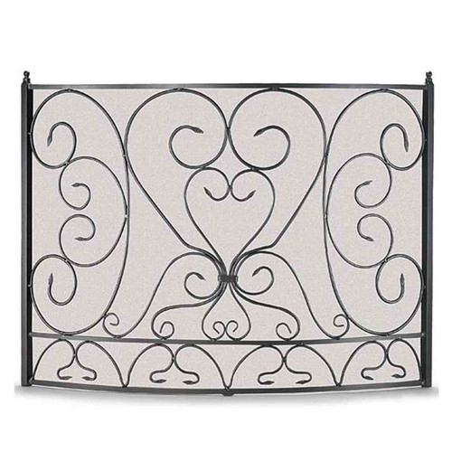 Pilgrim Shakespeare's Garden Bowed Fireplace Screen