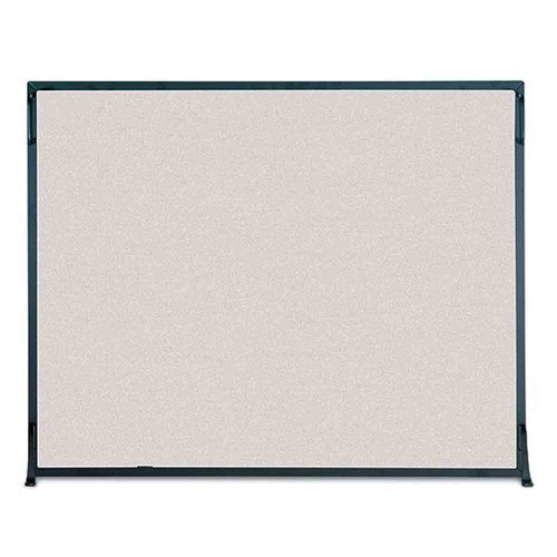Pilgrim Flat Panel Fireplace Screen - Black