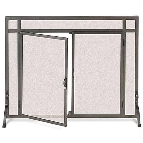 Pilgrim FGND Small Frame Custom Operable Door Fireplace Screen