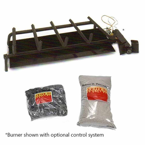 30'' Peterson G4 Real Fyre Propane Log Burner System