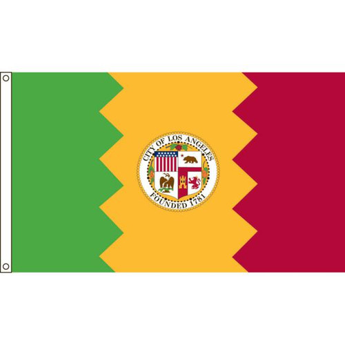 Los Angeles 5' X 8' Nylon Flag